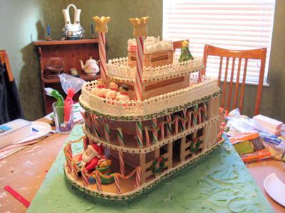 Gingerbread riverboat maxwellsz