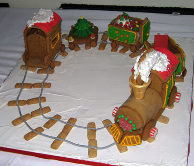 Gingerbread Train