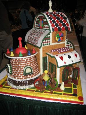 Gingerbread Reindeer Playhouse