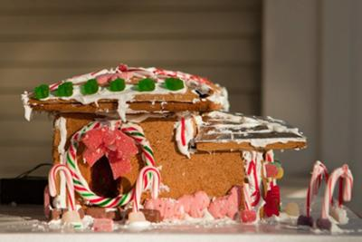 Perry and Noe'ss Gingerbread House View 2