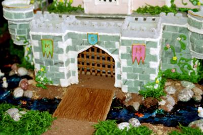Kristina's Castle drawbridge