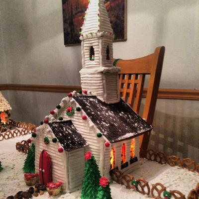 Mel's Gingerbread Church #1