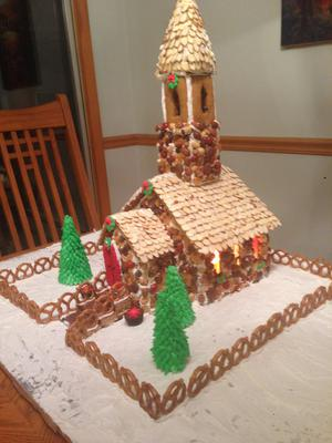 Mel's Gingerbread Church #2