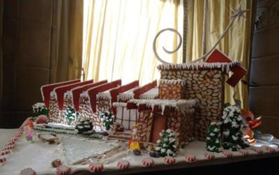 Taliesin West (Frank Lloyd Wright) gingerbread house.