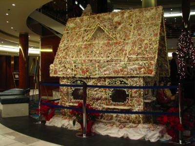 Gingerbread House from Norwegian Cruiseline