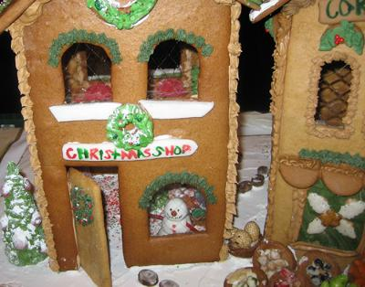 More gingerbread house gelatin windows