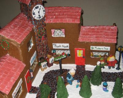 More gingerbread house windows