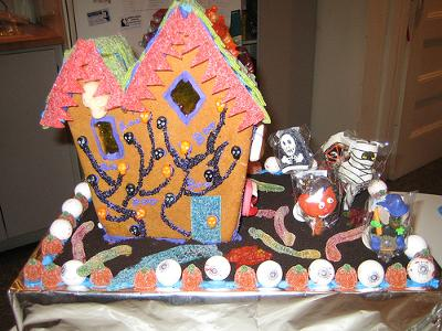 Spooky Gingerbread House