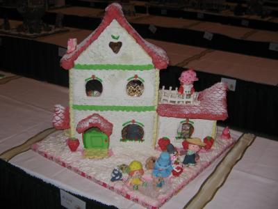 Strawberry Shortcake House Front