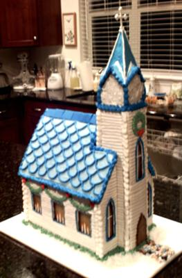 Gingerbread Chapel