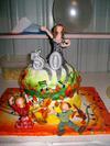 Claire's 30 Music Singing Autumny Birthday Cake 2011