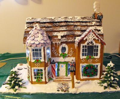 tonia s victorian gingerbread house