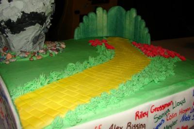 Wizard Of Oz With Twister Cake