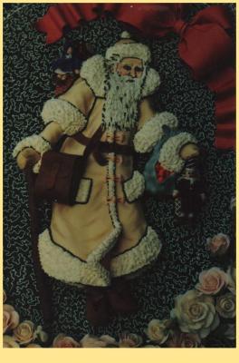 Veronica's Victorian Gingerbread Santa