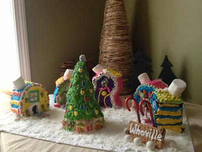 Gingerbread Whoville