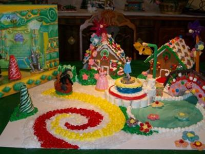 wizard of oz Gingerbreadhouse
