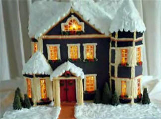 parsons gingerbread house 2006