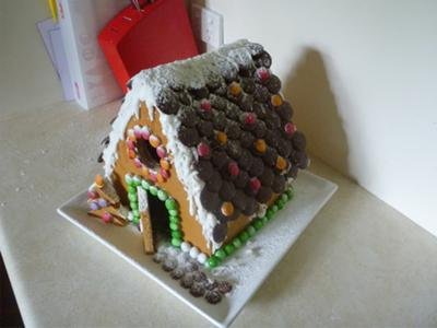 Ballantyne Gingerbread House