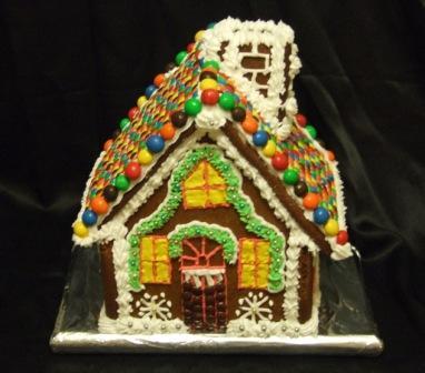 Christmas house for work