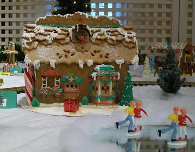 Gingerbread Train Station