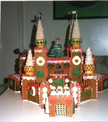 Dottie's CHristmas Castle