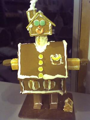 Gingerbread House Man