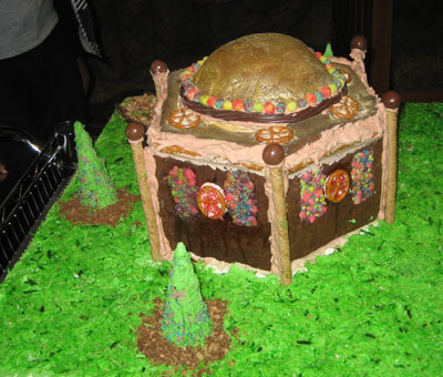 Gingerbread House with Dome