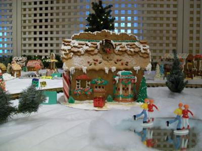 Gingerbread Country Train Station