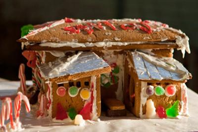 Perry and Noe's Gingerbread House 1