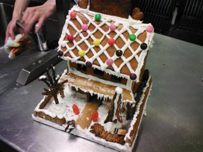 My lovely gingerbread house