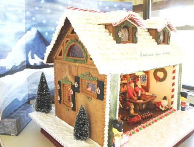 Gingerbread Santa's Workshop