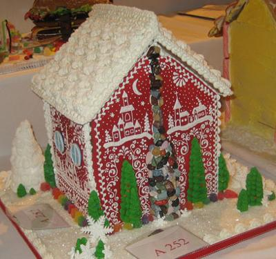Swedish Gingerbread House