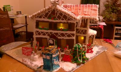 Our completed masterpiece.