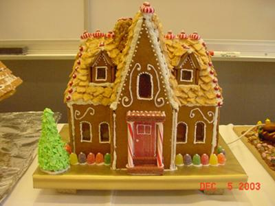 Tidor Revival Gingerbread House
