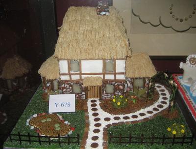 Tudor Gingerbread House