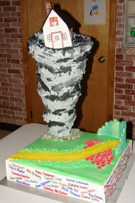 Twister Cake