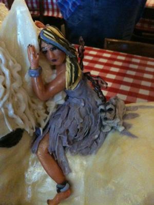 Fairy on Unicorn Cake