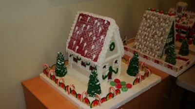 gingerbread city house