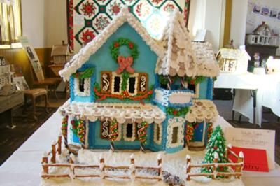 Gingerbread House Contest Winner - Victorian Home