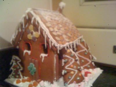winter wonderland in gingerbread